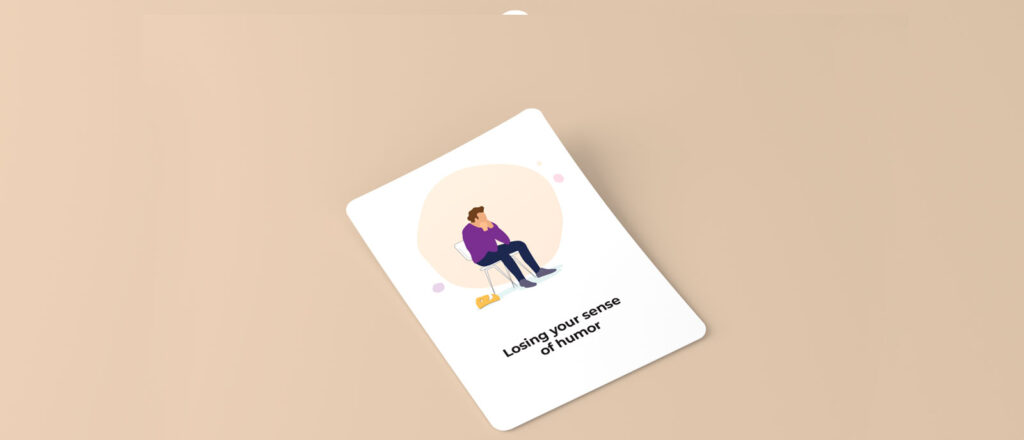 Image of a coaching card on yellow background
